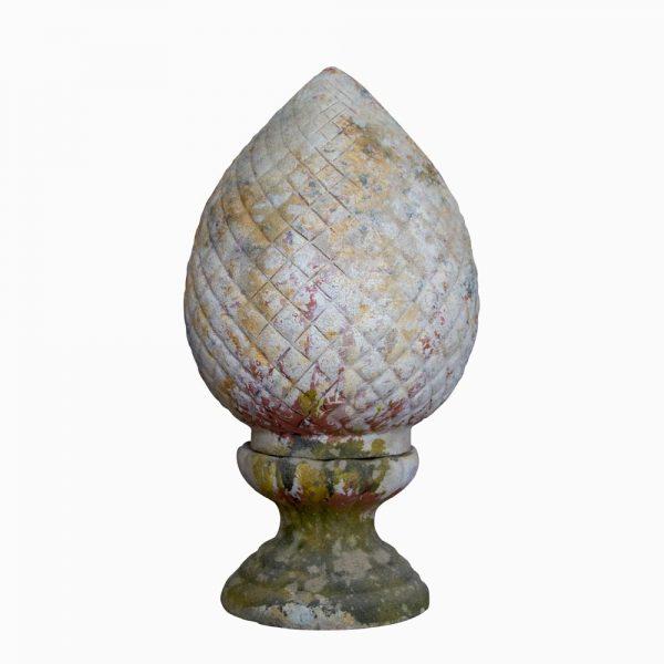 Terra cotta acorn