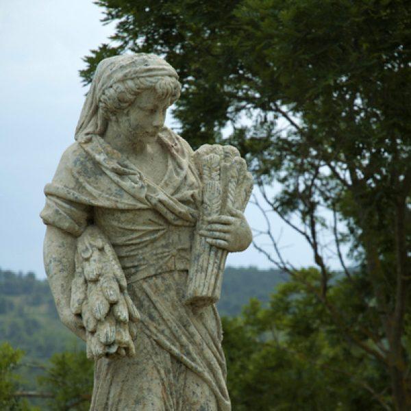 4 seasons Statue H59″